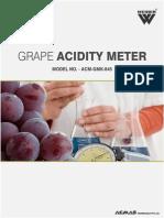 Grape Acidity Meter