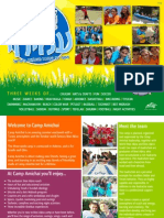 Camp Amichai 2014 Brochure - English