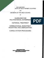 Lineas Directrices EMN OCDE 1976