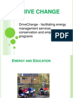 DriveChange - facilitating energy management services, conservation and empowerment programs