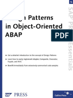 Patterns in ABAP