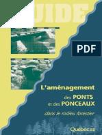 Amenagement Ponts
