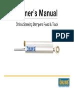Ohlins Steering Damper Manual