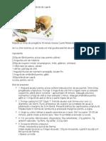 Calzone cu ciuperci și brânză de capră