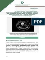 The Al-Nusra Front Aka Jabhat Al-Nusra, An Al-Qaeda Salafist-Jihadi Network, Prominent in the Rebel Organizations in Syria