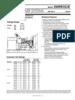 g5340 250kw Kohler Generator