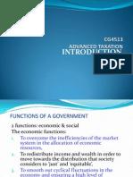 Adv. Tax Intro