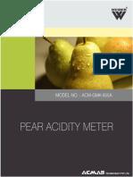 Pear Acidity Meter