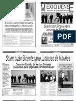 Versión impresa del periódico El mexiquense  1 octubre 2013