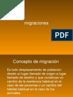 migraciones PROFESOR