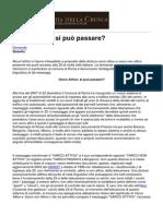 Accademia Della Crusca - Varco Attivo Si Puo Passare - 2012-12-11
