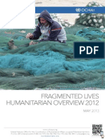 UN Ocha Opt Fragmented Lives Annual Report 2013 English