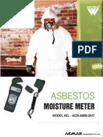 Asbestos Moisture Meter