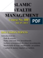 Islamic Wealth Management - 07-07-2013