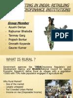 Rural Marketing in India- Final