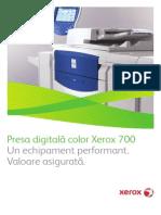 Xerox 700 Digital Color Press Bro RO