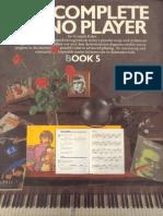 Complete Piano Player Book 5