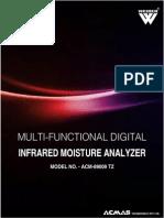 Automatic Infrared Moisture Analyzer Meter