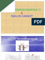 Hukum Termodinamika II Dan Siklus Carnot