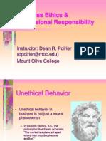 Business Ethics %26 Professional Responsibility