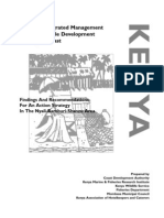 CDA - Towards Integrated Management and Sustinable Development Kenya Coast