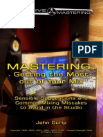 MASTERING - Getting the Most Out of Your Mix
