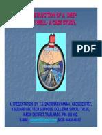 Construction of a Deep TubeWell_A Case Study_TS Badrinarayanan