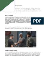 Traduction de l'article de Rockstar sur GTA Online daté du01 10 3013