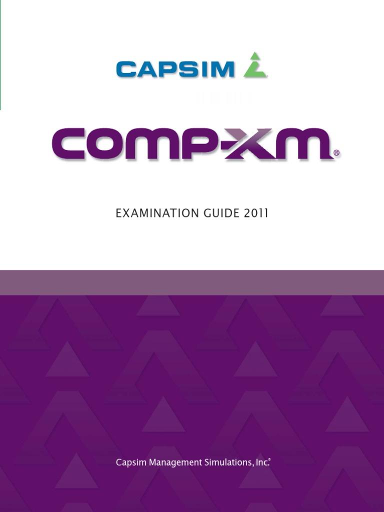 capsim simulation grading guide