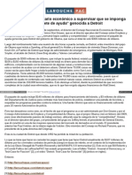 Spanish Larouchepac Com Obama Sicario Economico