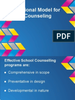 International Model for School Counselling Staff Presentation