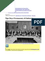 Tipudaya Freemasonry Di Indonesia