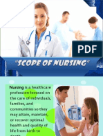Scope of Nursing