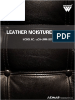 Leather Moisture Meter