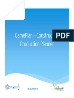 Game Plan – Construction Project Management in Cloud