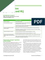 Exam Practice Paper 1 IB Economics