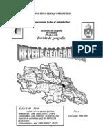 Repere Geografice Nr. 4, 2008