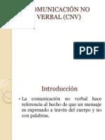 COMUNICACIÓN NO VERBAL (CNV)