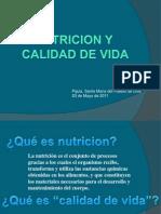 Nutricion, Calidad de Vida