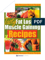 (eBook Health Diet Fitness) Bodybuilding - Tasty Fat Loss and Muscle Gaining Recipes