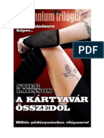 Stieg Larsson - Millennium Trilogia III