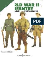 (1990) (Europa Militaria No.2) World War II Infantry in Colour Photographs