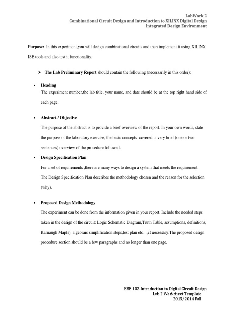 worksheet Design An Experiment Worksheet lab 2 worksheet template logic synthesis circuit design