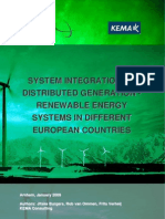 Renewables Support Schemes and Grid Integration Policies