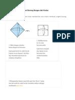Cara Membuat Origami Burung Bangau Dari Kertas