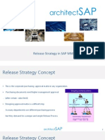 New Release Strategy for SAP MM