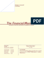 Egypt Financial Monthly (Ministry of Finance) August 2013