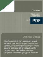 Presentasi Refrat Stroke