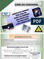 Presentación no ionizantes