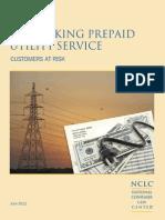 Report Prepaid Utility